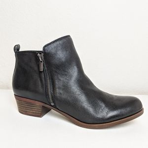 NWOT Lucky Brand Basel Side Zip Ankle Boots 13